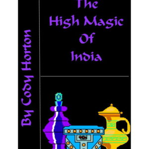 High Magic of India Book Cover